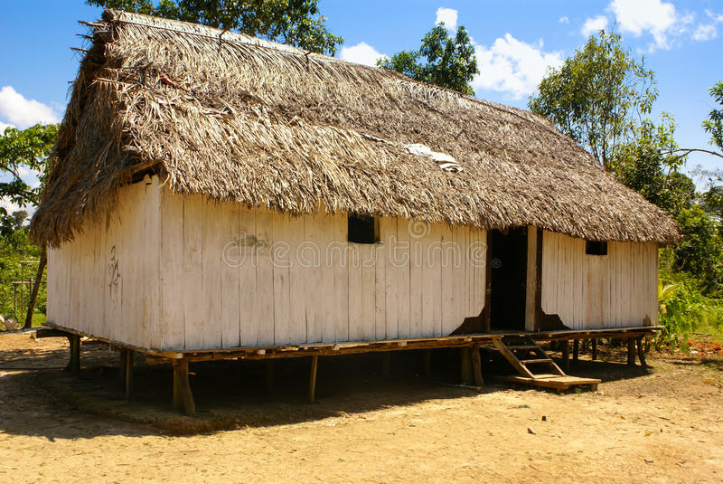 Peru, Peruwiański Amazonas krajobraz. Fotografii teraźniejszość typowy ind obrazy royalty free