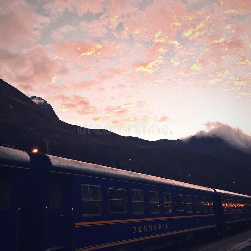 Peru Rail imagens de stock