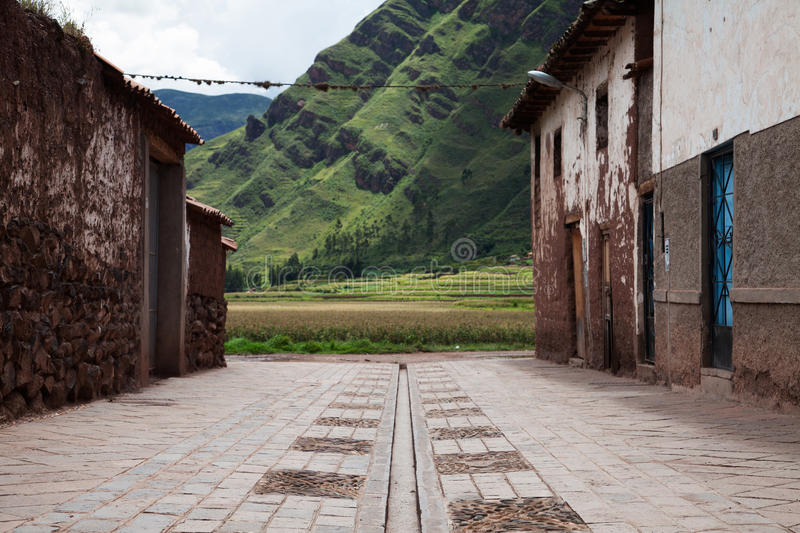 Peru Sacred Valley images stock