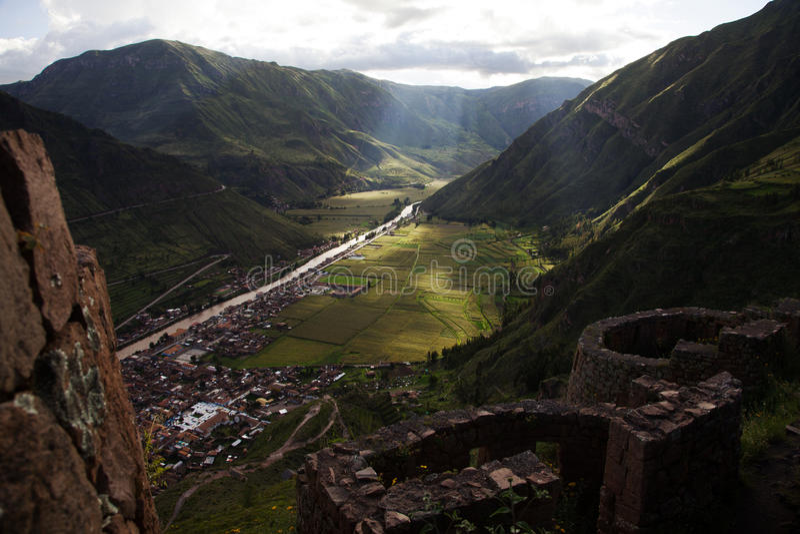 Peru Sacred Valley imagen de archivo libre de regalías