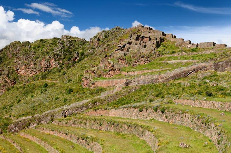 Download Peru, Sacred Valley, Pisaq Inca Ruins Stock Photo - Image: 24880478