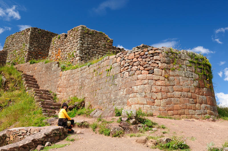 Download Peru, Sacred Valley, Pisaq Inca Ruins Stock Photos - Image: 24905163