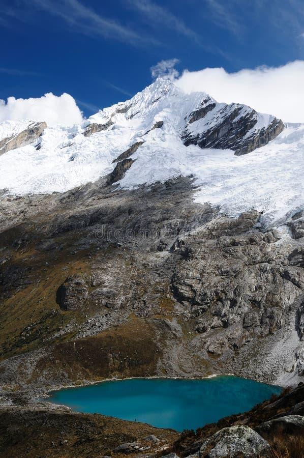 Peru, Santa Cruz Trek on the Cordillera Blanca royalty free stock photography