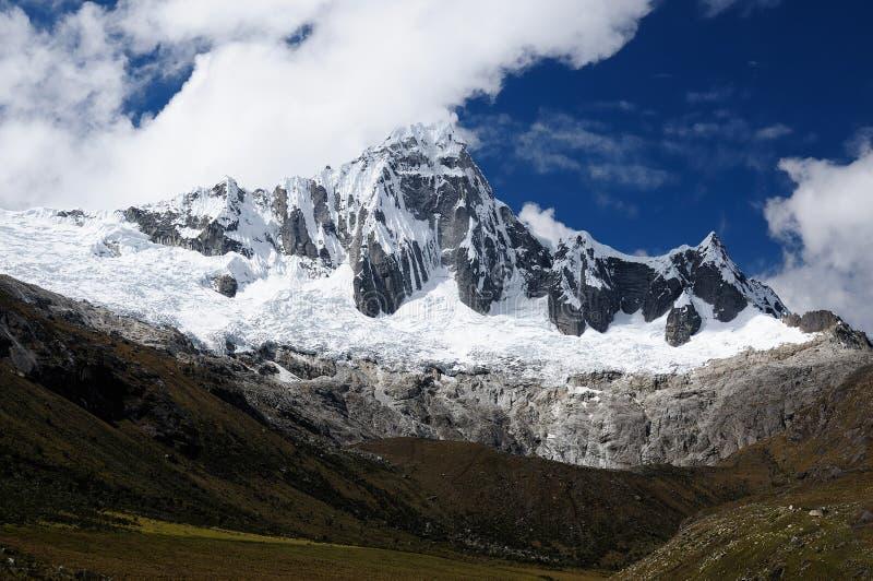 Peru, Santa Cruz Trek on the Cordillera Blanca stock images