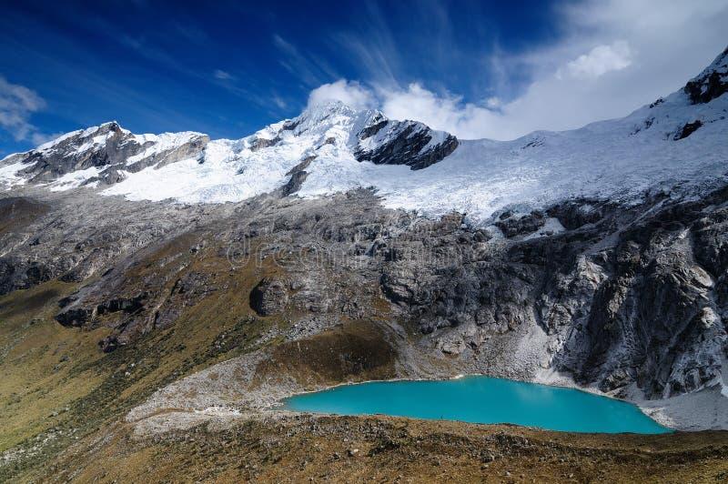 Peru, Santa Cruz Trek on the Cordillera Blanca royalty free stock images