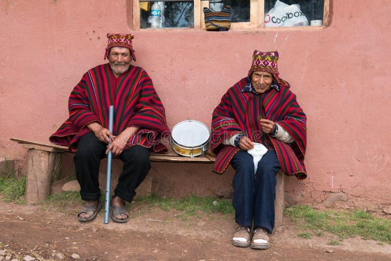 Peru Travel, Peruviaanse Cultuur, Mensen stock fotografie
