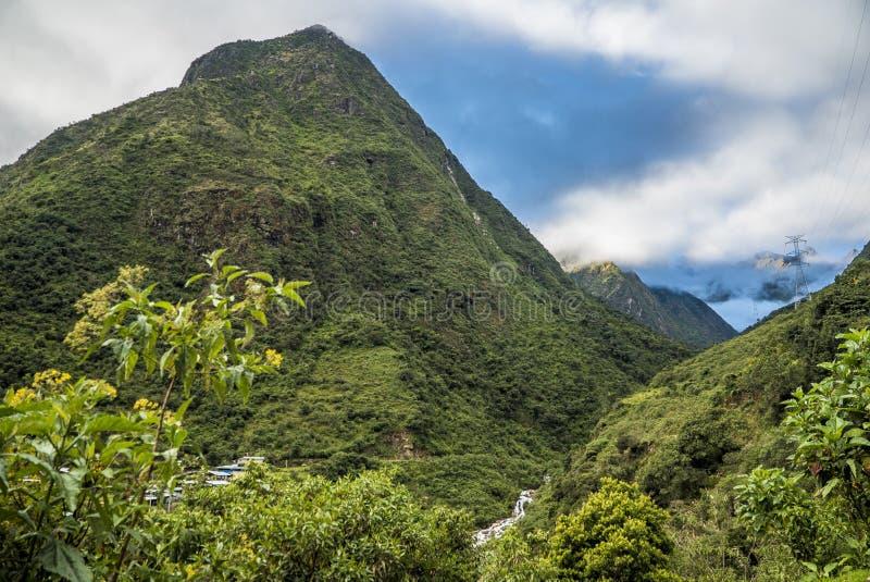 Peru Trekking de Salkantay fotografia de stock royalty free