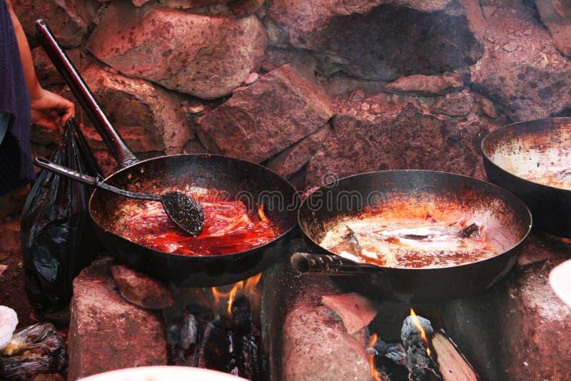 Peruanische Nahrung stockfoto