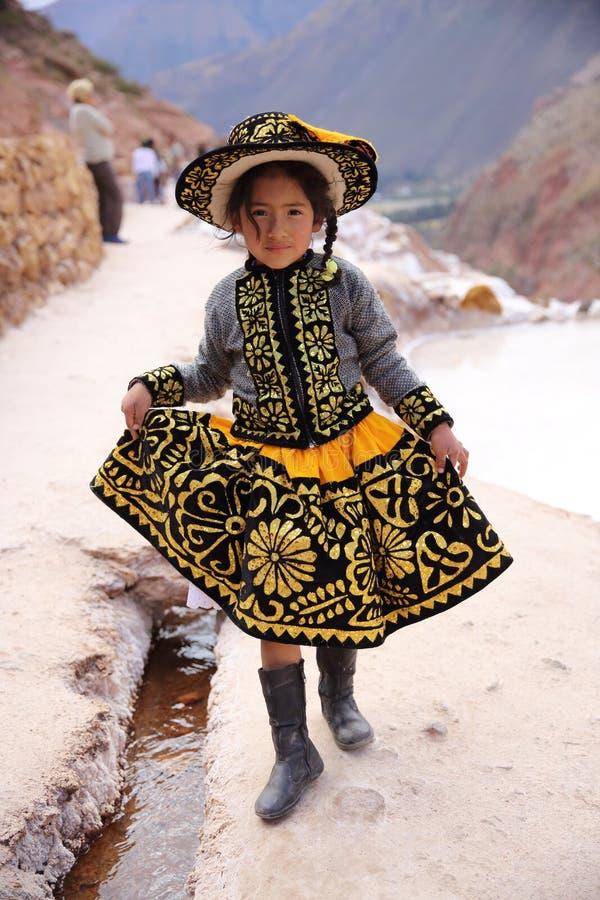Peruanischer Engel stockfotografie
