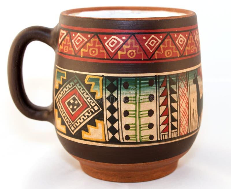 Peruansk kopp royaltyfria bilder