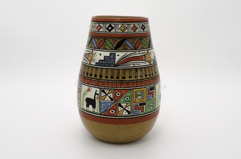 peruansk krukmakeri arkivfoto