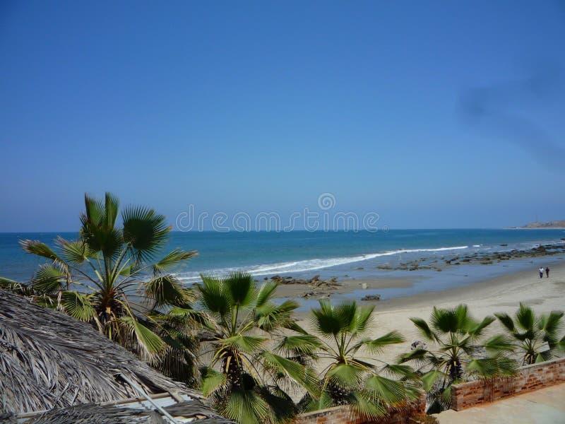 Peruansk strand royaltyfri foto