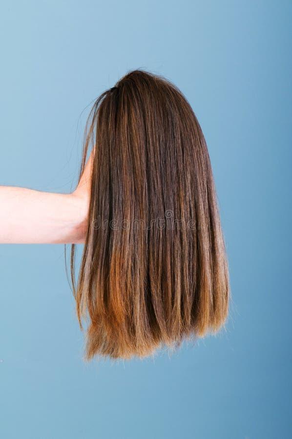 Download Peruca do cabelo imagem de stock. Imagem de cabelo, novo - 12812639