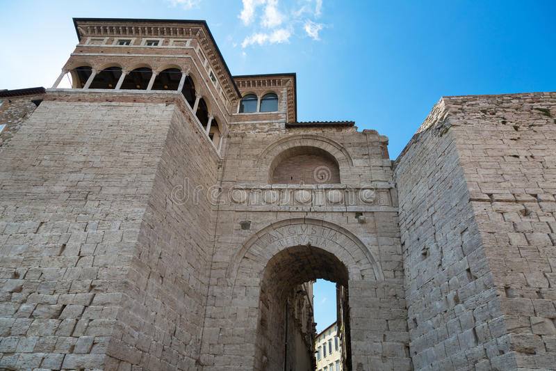 Perugia, Úmbria fotografia de stock