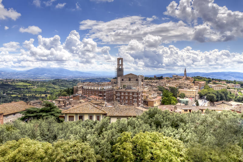 Perugia stock photography