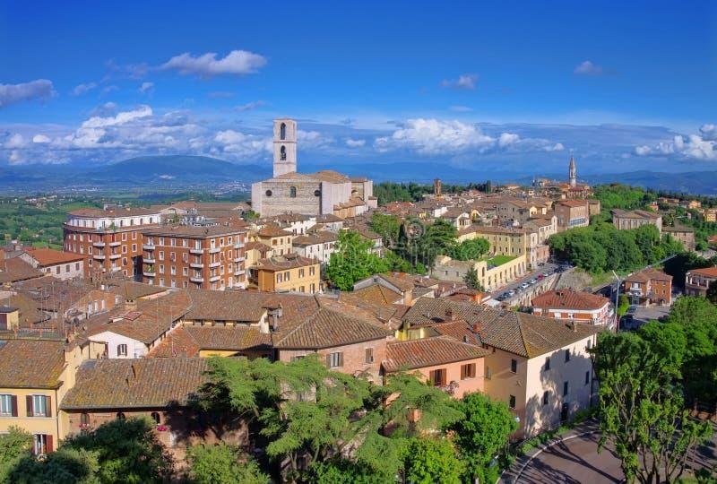 Perugia stock foto