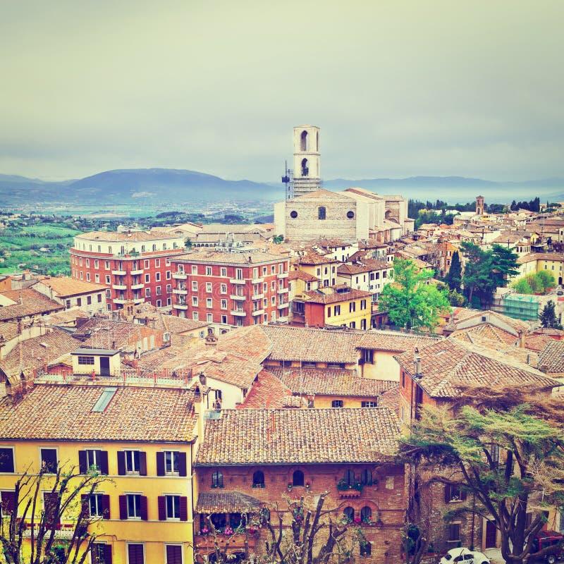 Perugia fotografía de archivo