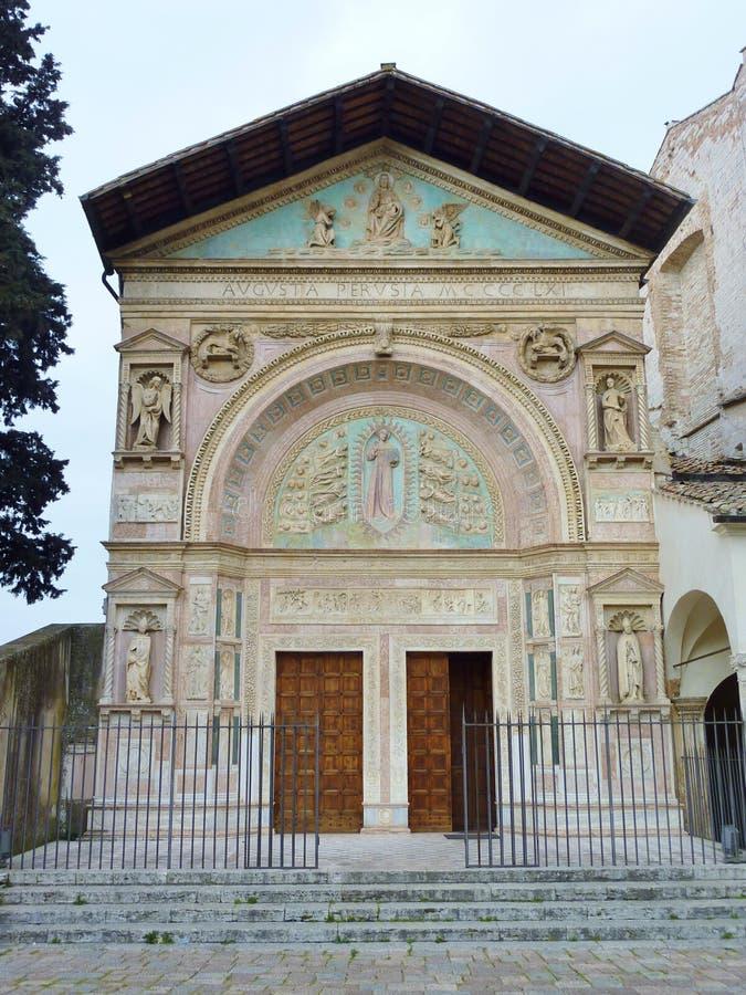 Perugia en Toscana en Italia foto de archivo libre de regalías