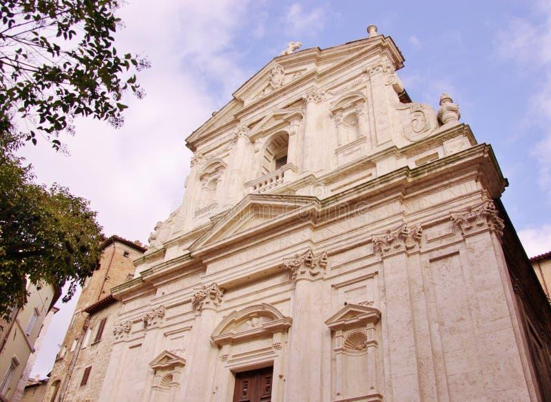 Perugia i Italien royaltyfri fotografi