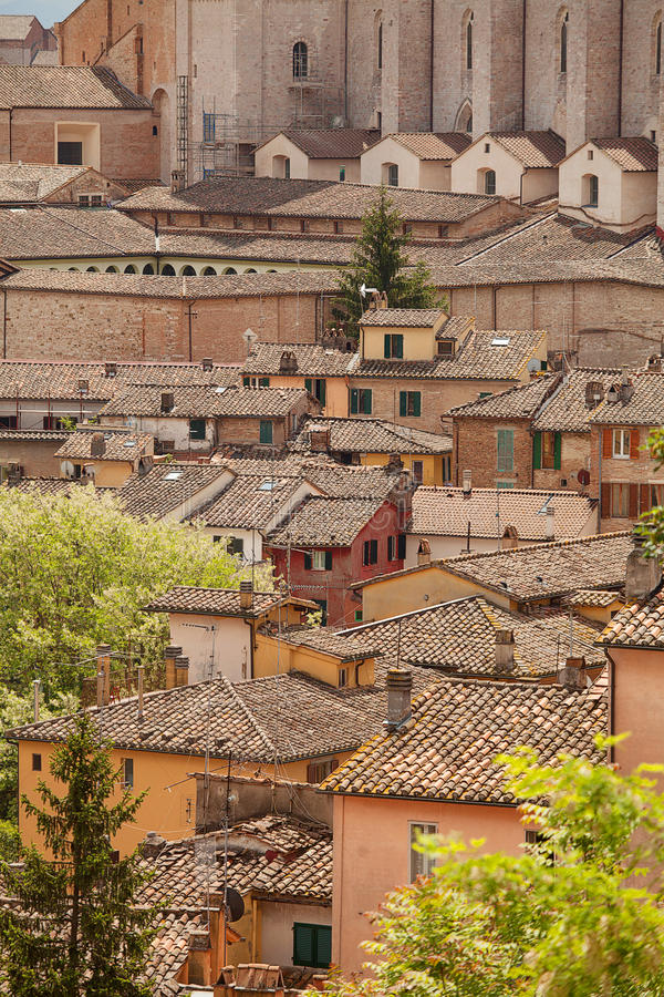 Perugia, Italia foto de archivo