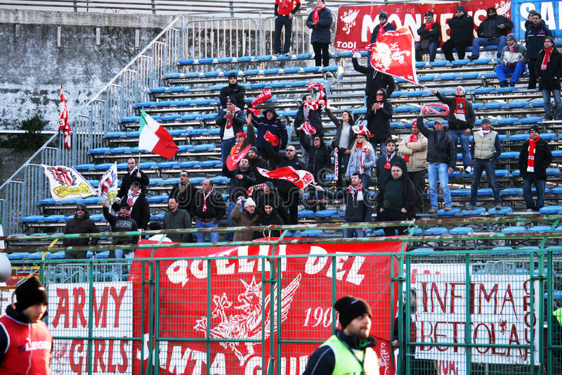 Download Perugia supporters editorial stock image. Image of ultras - 24422974