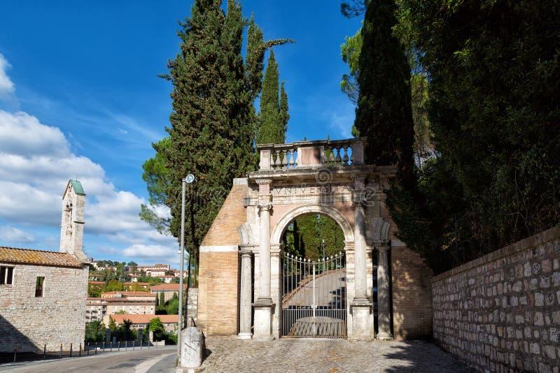 Perugia, Umbría fotos de archivo libres de regalías