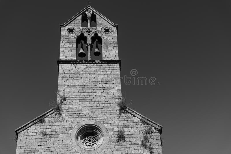 Perugia. Umbria jazz Festival - historical building and church royalty free stock photos
