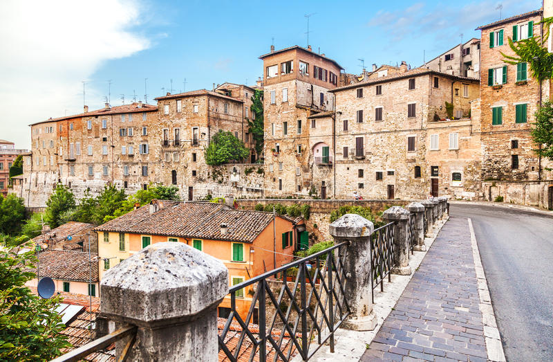 Perugia, Umbrien, Italien lizenzfreie stockfotografie