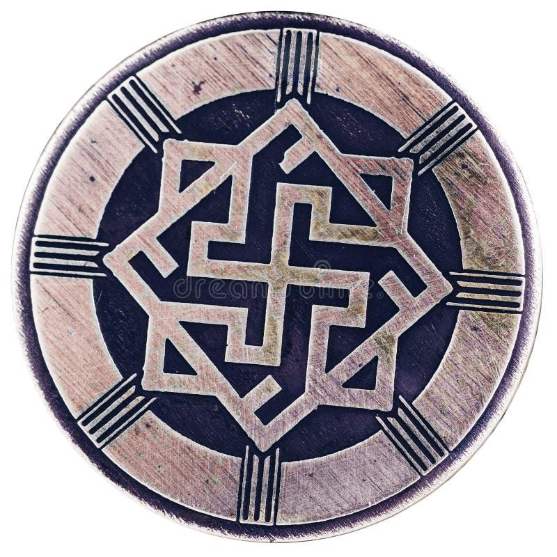Perunitsa lub walkiria Urok, chroniący sprawiedliwość i mądrość, godność, honor obraz stock