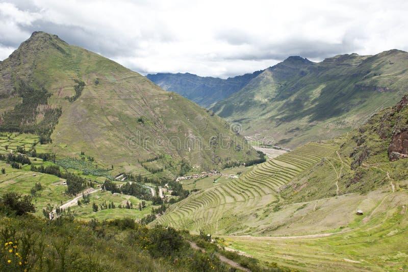 Peruviaans landschap royalty-vrije stock afbeelding
