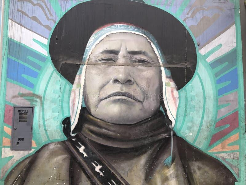 Peruviaans Straatart. stock afbeeldingen