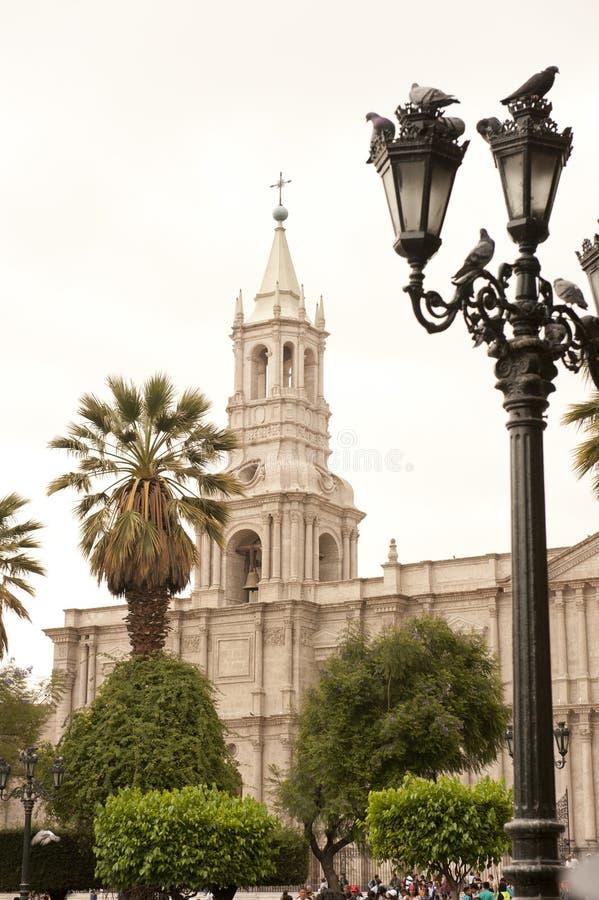 Peruviaanse architectuur royalty-vrije stock afbeeldingen