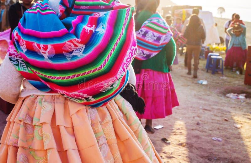 Peruviaanse mensen stock foto's