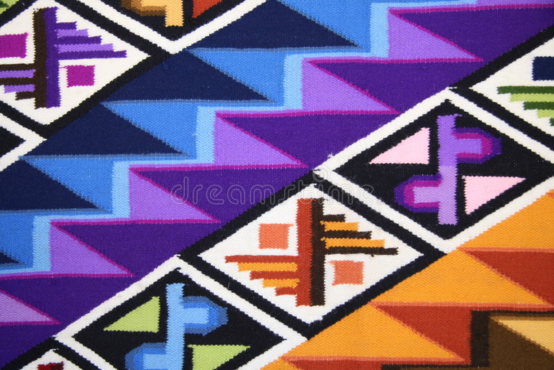 Peruviaanse stof stock foto's