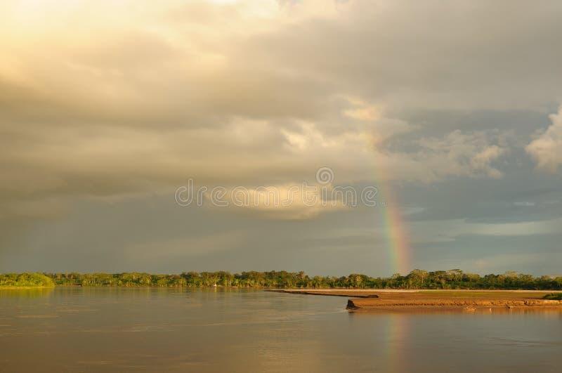 Peruvian Amazonas, Maranon River Landscape Royalty Free Stock Photo