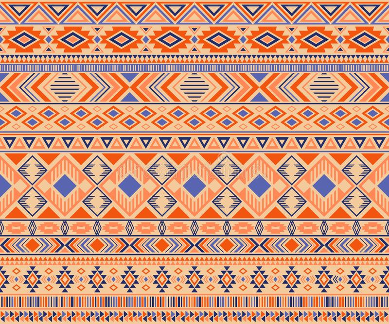American indian pattern tribal ethnic motifs geometric vector background vector illustration