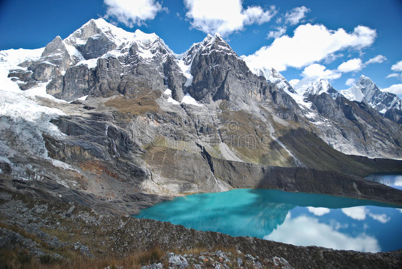 Peruvian Andes landscape royalty free stock photos