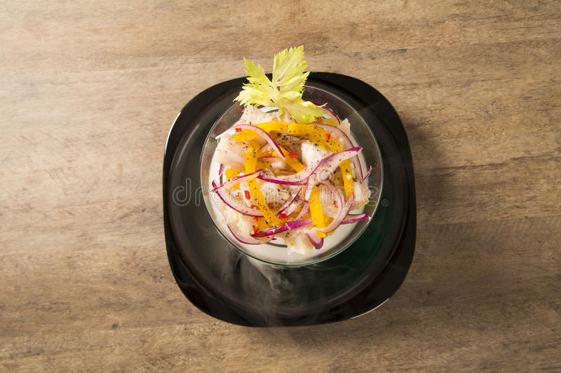 Peruvian Ceviche royalty free stock images