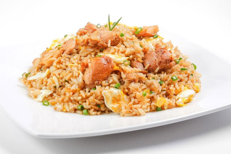 Peruvian food or peruvian fried rice stock photography