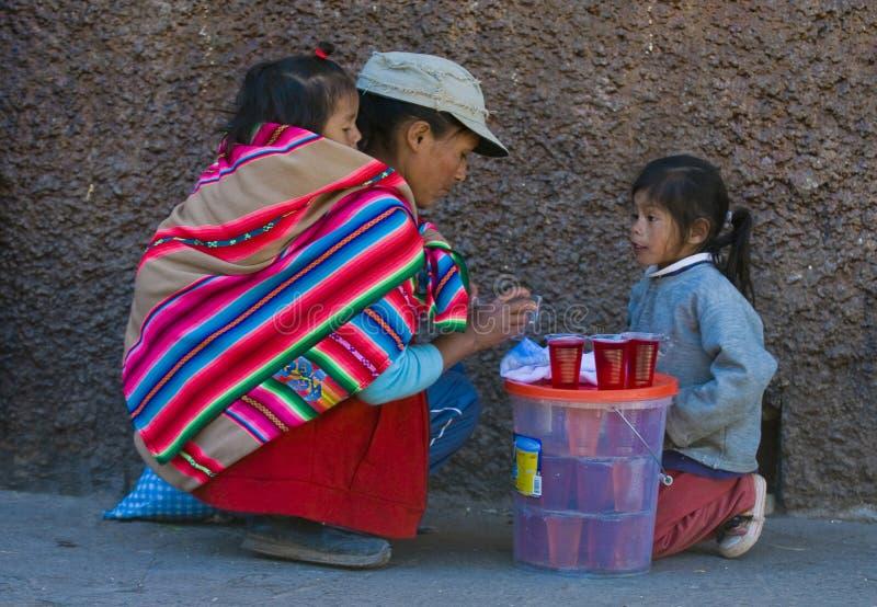 Peruvian mother stock photos