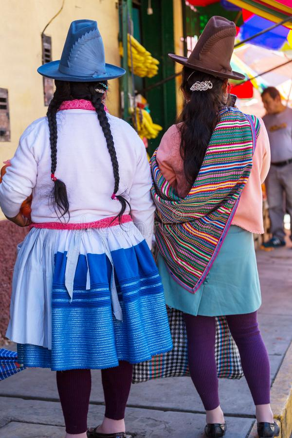 Peruvian people royalty free stock images