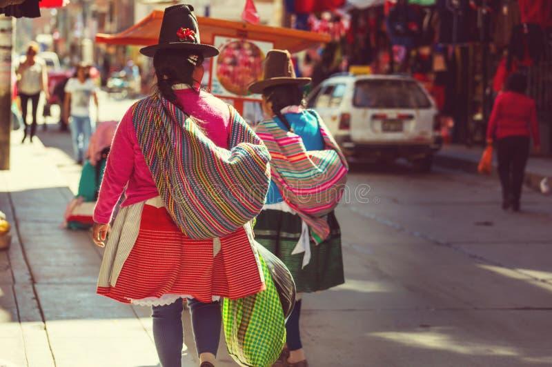 Peruvian people editorial image. Image of latin, stroller ...