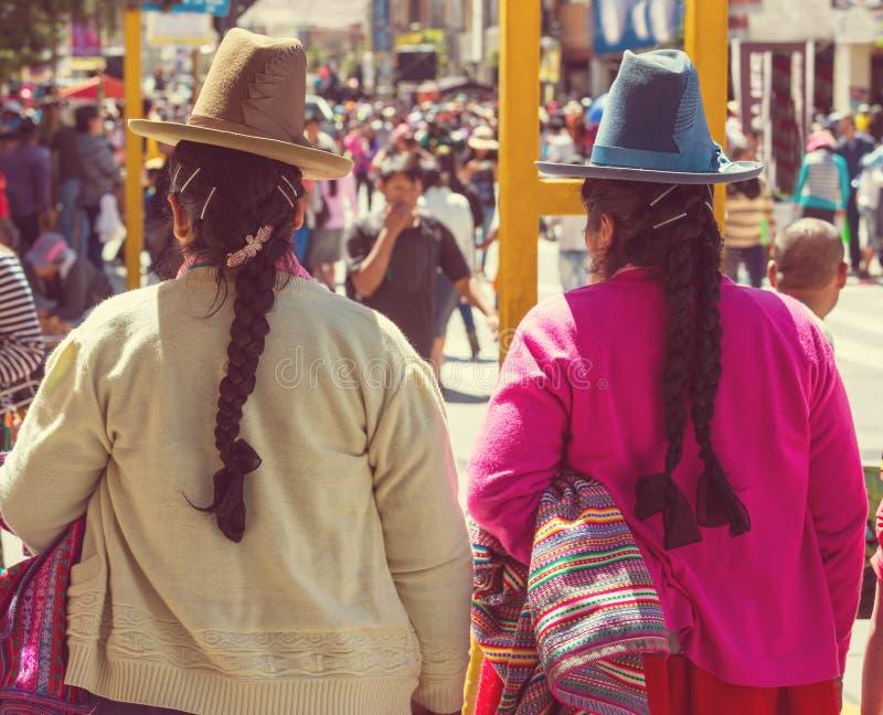 Peruvian people stock photography
