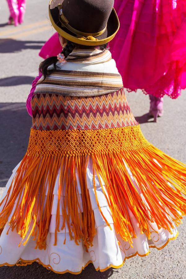 Peruvian people royalty free stock photography