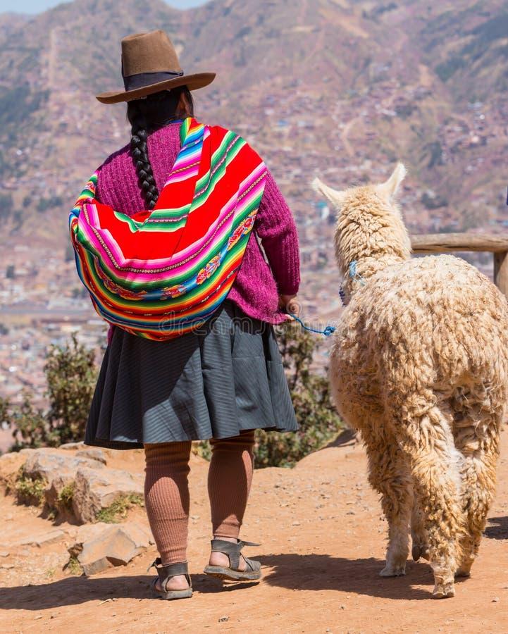 Peruvian people stock photos
