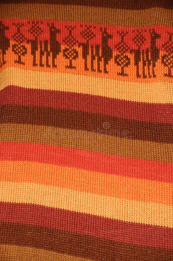 Download Peruvian Textile Detail stock image. Image of intricacy - 14459177