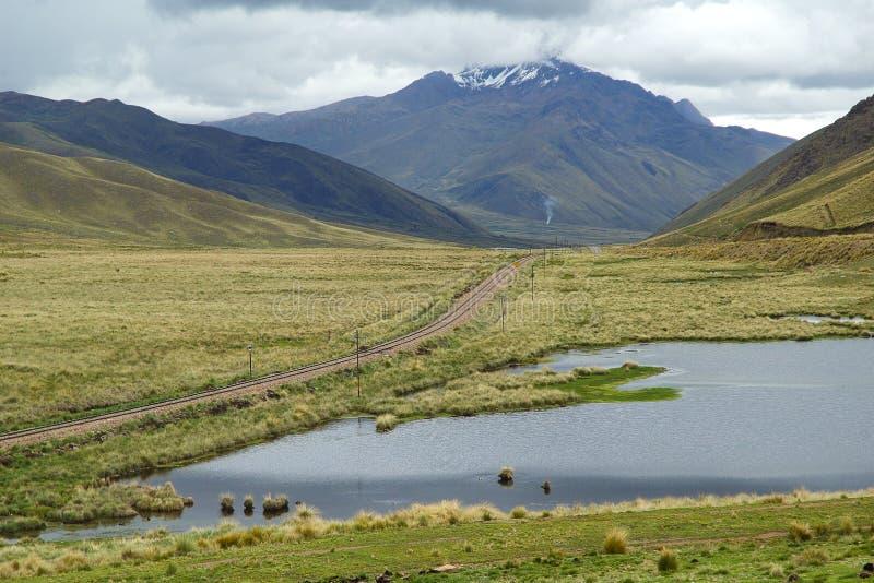 Peruviano pampa fotografie stock