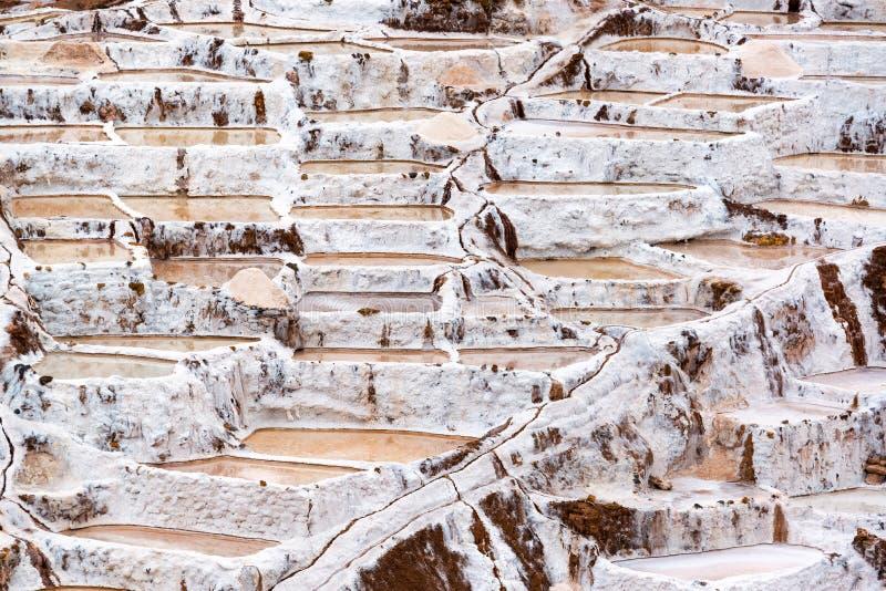 Peruwiańscy sól baseny zdjęcie royalty free