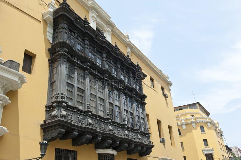 Pervuainarchitectuur stock afbeelding