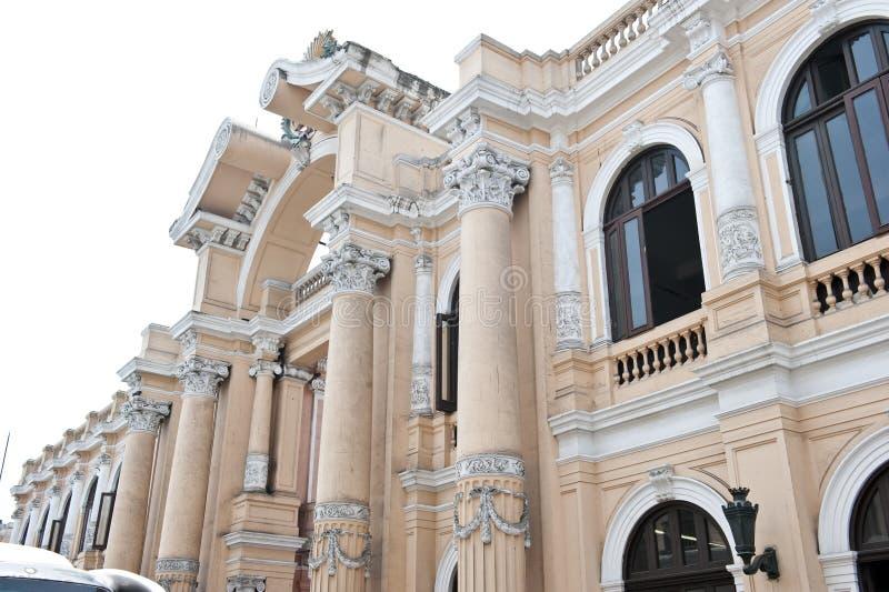 Pervuainarchitectuur royalty-vrije stock foto's